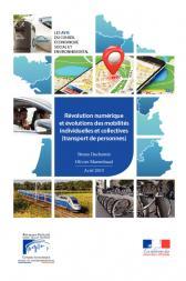 Révolution numérique et évolutions des mobilités individuelles et collectives (transport de personnes)