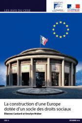 La construction d'une Europe  dotée d'un socle des droits sociaux