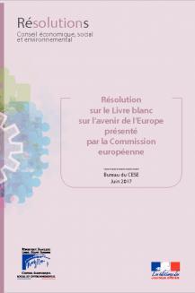 Résolution sur le livre blanc sur l'avenir de l'Europe présentée par la Commission européenne