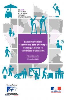 Expérimentation « Territoires zéro chômage de longue durée » : conditions de réussite