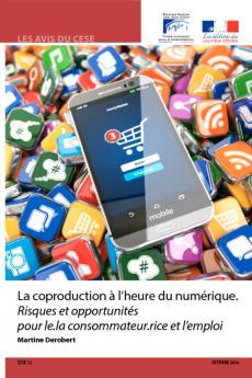 La coproduction à l'heure du numérique. Risques et opportunités pour le.la consommateur.rice et l'emploi
