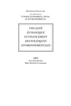 Fiscalité écologique et financement des politiques environnementales