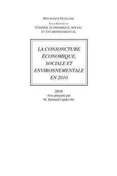La conjoncture économique, sociale et environnementale en 2010