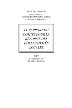 Le rapport du Comité pour la réforme des collectivités locales