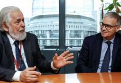 Rencontre du président du CESE et du président du Comité économique et social européen à Bruxelles
