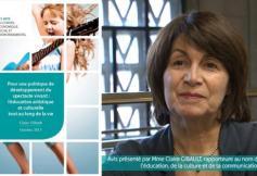 Le CESE a voté un avis sur l'éducation artistique et culturelle