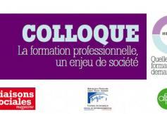 """15 décembre - """"La formation professionnelle, un enjeu de société"""""""