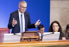 Discours du Président Patrick Bernasconi - Conférence annuelle du CESE