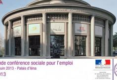Grande conférence sociale pour l'Emploi au Palais d'Iéna