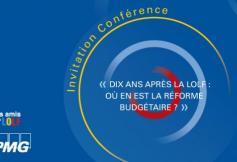 16 décembre - « Dix ans après la LOLF : Où en est la réforme budgétaire ? »