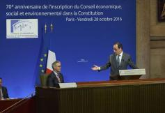 70ème anniversaire de l'inscription du Conseil économique dans la Constitution