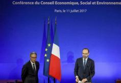 Visite du Premier Ministre à l'occasion de la Conférence annuelle du CESE le 11 juillet 2017