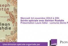 Emission spéciale avec Salman Rushdie sur France Culture ce soir, en direct du CESE