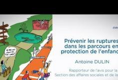 Prévenir les ruptures dans les parcours en protection de l'enfance : le CESE a adopté son avis