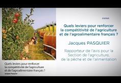 """Le CESE a adopté son avis """"Quels leviers pour renforcer la compétitivité de l'agriculture et de l'agroalimentaire français ?"""""""