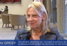 Audition de Brigitte Grésy, Secrétaire gle du Conseil supérieur de l'égalité professionnelle entre femmes et hommes