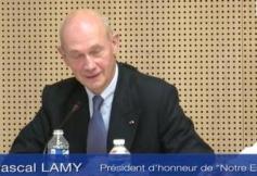 Audition de M. Pascal LAMY (Notre Europe)