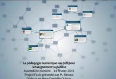 Revoir la séance du 24-02-2015 : Budget du CESE et pédagogie numérique