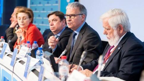 Intervention de Patrick Bernasconi, président du CESE devant le Comité économique et social européen