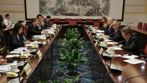 Visite officielle du Président du CESE en République populaire de Chine