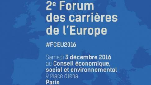 2ème Forum des carrières de l'Europe