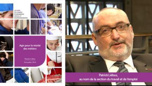 Le CESE s'est prononcé sur la mixité des métiers