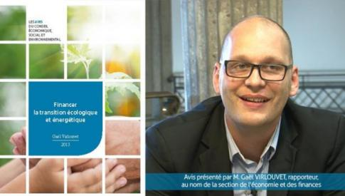 Avis sur le financement de la transition écologique et énergétique voté