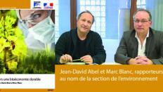 Le CESE a rendu son avis sur la bioéconomie durable
