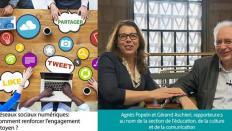 """Le CESE a rendu son avis """"Réseaux sociaux numériques : comment renforcer l'engagement citoyen ?"""""""