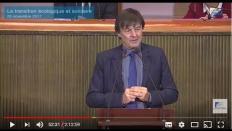 La transition écologique et solidaire à l'échelon local, séance en présence de Nicolas Hulot