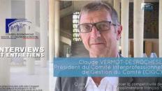 Questions à Claude VERMOT-DESROCHES (gestion du Comté) - compétitivité agriculture